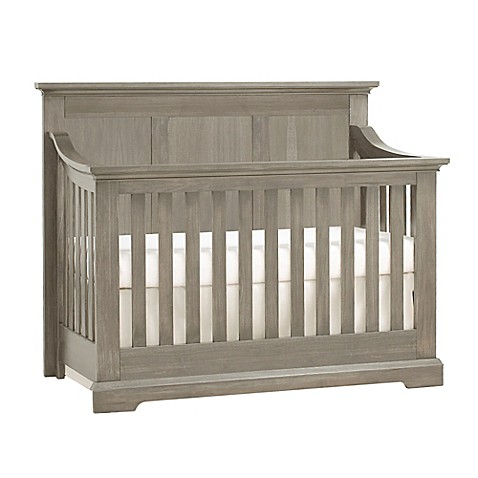 Kingsley Jackson 4 In 1 Convertible Crib In Ash Grey