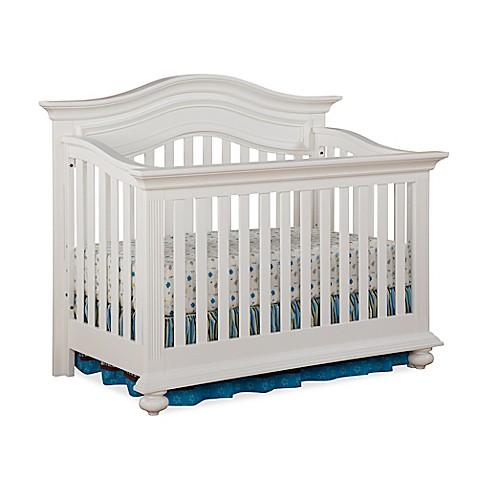 Kingsley Keyport 4 In 1 Convertible Crib In White Buybuy