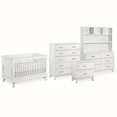 Kingsley Wyndham Nursery Furniture Collection in White