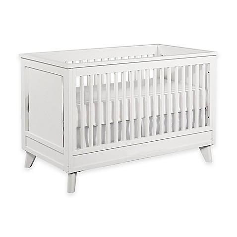 Kingsley Wyndham 3 In 1 Convertible Crib In White