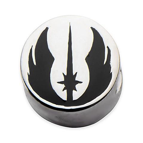 Star Wars Stainless Steel Jedi Symbol Bead Charm Bed Bath Beyond