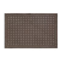Mohawk Home 24-Inch x 36-Inch Square Impressions Door Mat in Brown