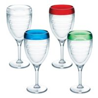 Tervis® 9 oz. Wine Glasses in Assorted Colors (Set of 4)