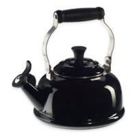 Le Creuset® 1.8-Quart Whistling Tea Kettle in Black