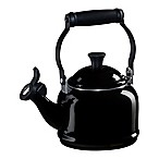 Le Creuset® Demi 1.25 qt. Whistling Tea Kettle in Black