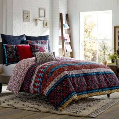 Blissliving 174 Home Madero Reversible Duvet Cover Set Bed