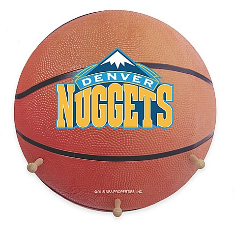 Nba Denver Nuggets Team Logo Basketball Coat Rack Bed