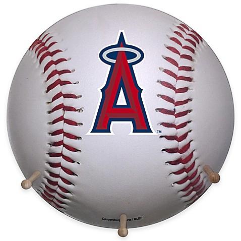 Mlb Los Angeles Angels Team Logo Baseball Coat Rack Bed