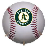 MLB Oakland Athletics Team Logo Baseball Coat Rack