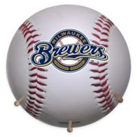MLB Milwaukee Brewers Team Logo Baseball Coat Rack