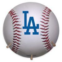 MLB Los Angeles Dodgers Team Logo Baseball Coat Rack