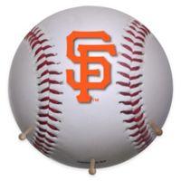 MLB San Francisco 49ers Team Logo Baseball Coat Rack
