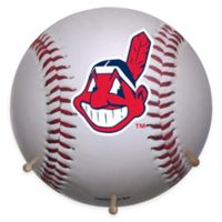 MLB Cleveland Indians Team Logo Baseball Coat Rack