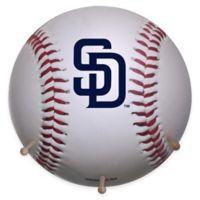 MLB San Diego Padres Team Logo Baseball Coat Rack
