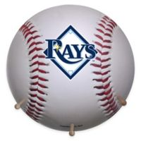 MLB Tampa Bay Rays Team Logo Baseball Coat Rack