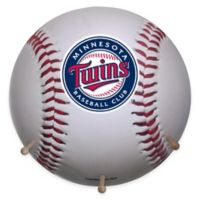 MLB Minnesota Twins Team Logo Baseball Coat Rack