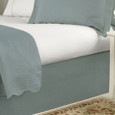 Buy Aqua Bed Skirts From Bed Bath Amp Beyond