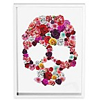 Bed of Roses Skull Wall Art