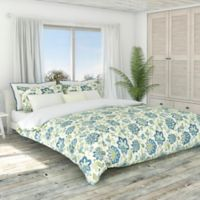 Colorfly™ Bella Full/Queen Duvet Cover Set in Blue