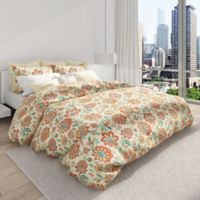 Colorfly™ Bella Full/Queen Duvet Cover Set in Melon