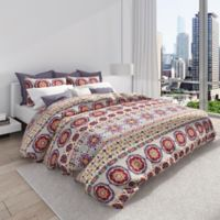 Colorfly™ Bliss Full/Queen Duvet Cover Set in Berry