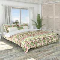 Colorfly™ Bliss King Duvet Cover Set in Peony