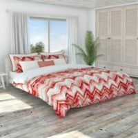 Colorfly™ Germain Full/Queen Duvet Cover Set in Coral Haze