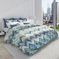 Colorfly™ Germain King Duvet Cover Set in Sea Glass