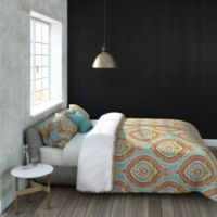 Colorfly™ Nico Full/Queen Duvet Cover Set in Aquamarine