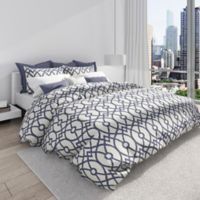Colorfly™ Piper Full/Queen Duvet Cover Set in Indigo