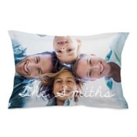 Microfiber Photo Standard Pillow Sham
