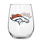 NFL Denver Broncos Curved Beverage Glass