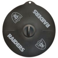 NFL Oakland Raiders 9-Inch Silicone Lid
