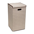 Household Essentials® Collapsible Laundry Hamper in Brown