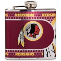 NFL Washington Redskins Stainless Steel Metallic Hip Flask