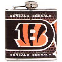 NFL Cincinnati Bengals Stainless Steel Metallic Hip Flask