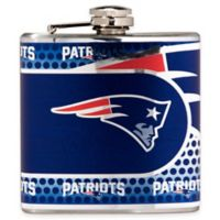 NFL New England Patriots Stainless Steel Metallic Hip Flask