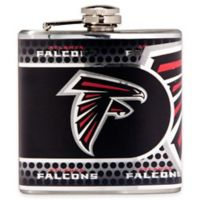 NFL Atlanta Falcons Stainless Steel Metallic Hip Flask
