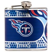 NFL Tennessee Titans Stainless Steel Metallic Hip Flask