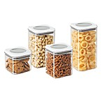 Oggi™ 4-Piece Twist and Store Canister Set