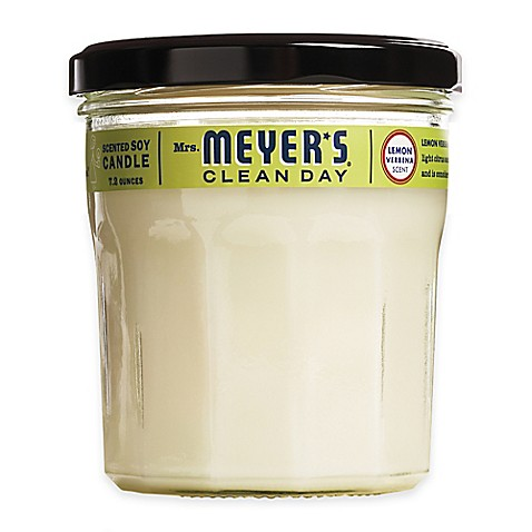image of Mrs. Meyer's® Clean Day Lemon Verbena Large Jar Candle