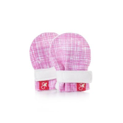 goumikids Micro Preemie Mitts in Sketch Pink
