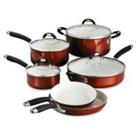 Tramontina® Style Ceramica Metallic Copper 10-Piece Cookware Set