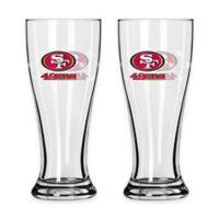 NFL San Francisco 49ers Mini Pilsner Glass (Set of 2)
