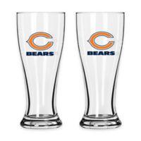NFL Chicago Bears Mini Pilsner Glass (Set of 2)
