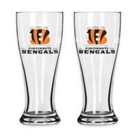 NFL Cincinnati Bengals Mini Pilsner Glass (Set of 2)