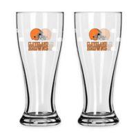 NFL Cleveland Browns Mini Pilsner Glass (Set of 2)