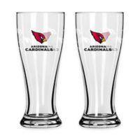 NFL Arizona Cardinals Mini Pilsner Glass (Set of 2)
