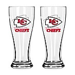 NFL Kansas City Chiefs Mini Pilsner Glass (Set of 2)