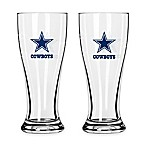 NFL Dallas Cowboys Mini Pilsner Glass (Set of 2)
